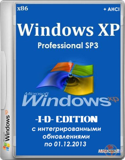 Windows XP Professional SP3 Russian VL (-I-D- Edition) (x86/RUS)