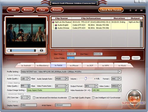 WinX HD Camcorder Video Converter 3.0.3.20140120