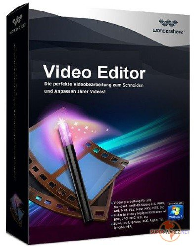 Wondershare Video Editor 5.0.1.1 + Rus
