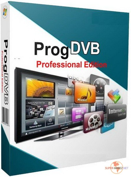 ProgDVB Professional Edition 7.12.06 + Chanells