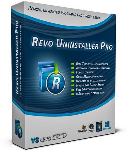 Revo Uninstaller Pro 3.1.8 RePack/Portable by Diakov