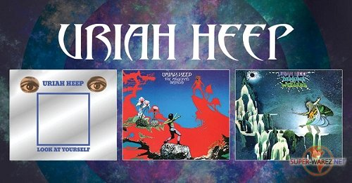 Uriah Heep - Box Set [3 Albums Re-Issues Deluxe Edition] (2017) MP3