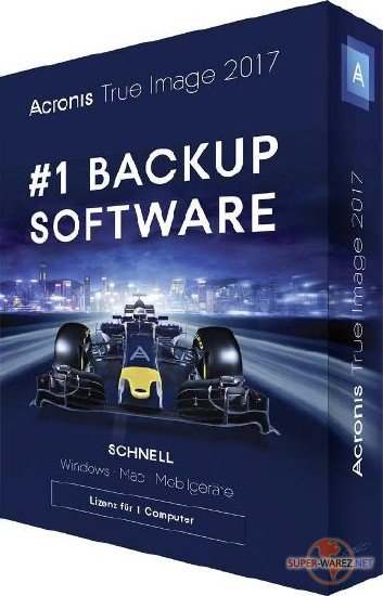 Acronis True Image 2017 21 Build 6206 New Generation RePack by KpoJIuK