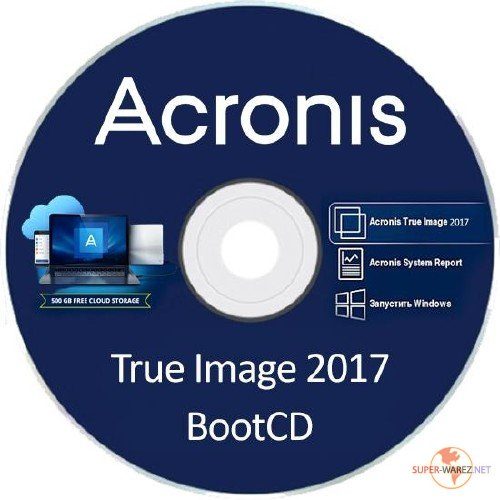 Acronis True Image 2017 20.0 Build 8041 Final BootCD
