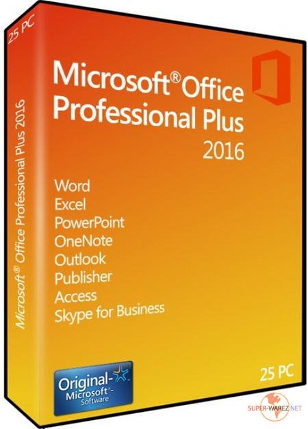 Microsoft Office 2016 Professional Plus + Visio Pro + Project Pro 16.0.4498.1000 VL RePack SPecialiST v17.4