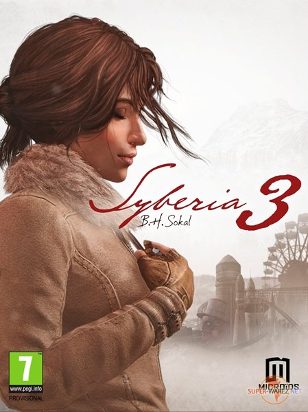 Syberia 3: Deluxe Edition (2017/RUS/ENG/MULTi9/RePack от SpaceX)