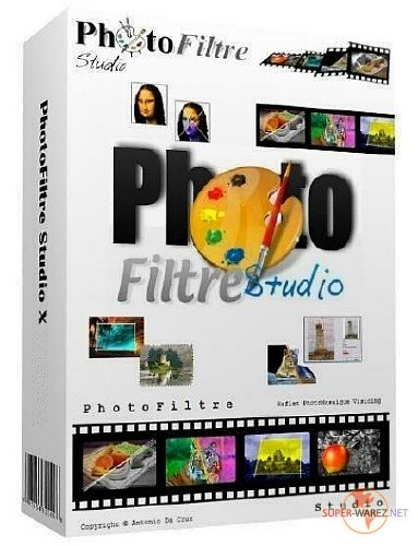 PhotoFiltre Studio X 10.12.1 + Portable