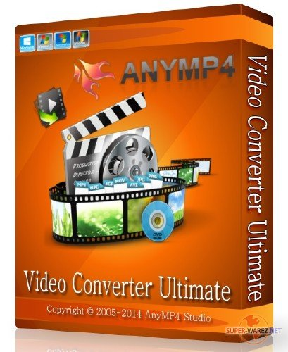 AnyMP4 Video Converter Ultimate 7.2.16 + Rus