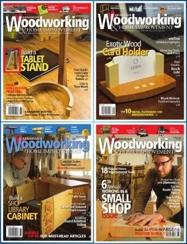 Подшивка журналов - Canadian Woodworking & Home Improvement (2016) PDF