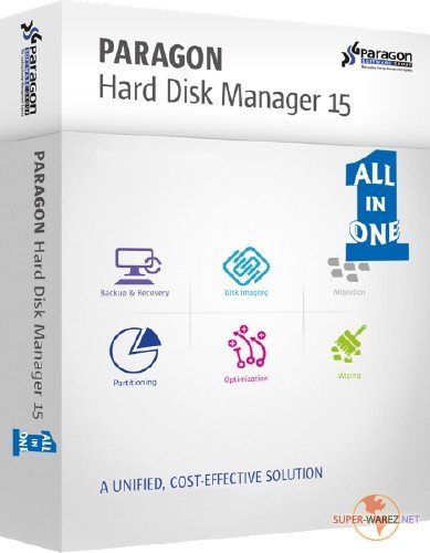 Paragon Hard Disk Manager 15 Premium 10.1.25.1137 + Boot Media