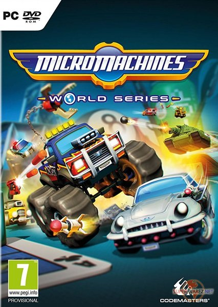 Micro Machines: World Series (2017/ENG/MULTi5/RePack от FitGirl)