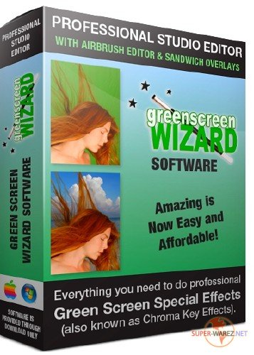 Green Screen Wizard Professional 9.6