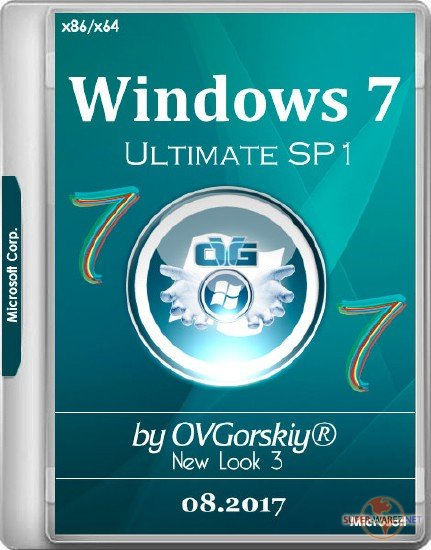 Windows 7 Ultimate SP1 x86/x64 NL3 by OVGorskiy 08.2017 2DVD (RUS/2017)