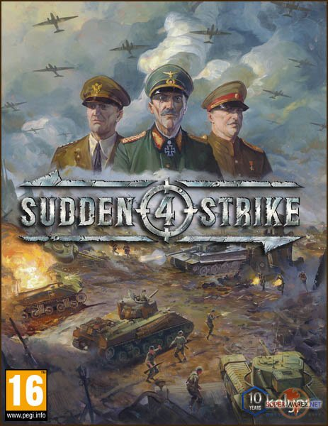 Sudden Strike 4 (2017/RUS/ENG/RePack by R.G. Catalyst)