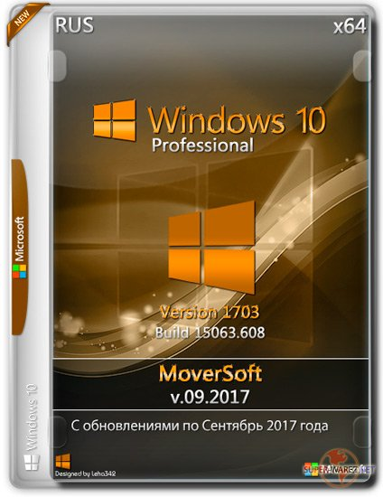 Windows 10 Professional x64 1703 MoverSoft v.09.2017 (RUS)