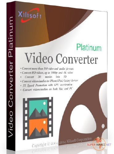 Xilisoft Video Converter Platinum 7.8.21 Build 20170920 Final + Rus