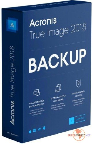 Acronis True Image 2018 Build 9660 Final