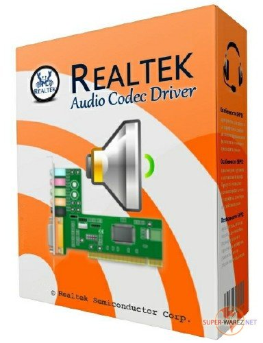 Realtek High Definition Audio Driver 6.0.1.8269 WHQL