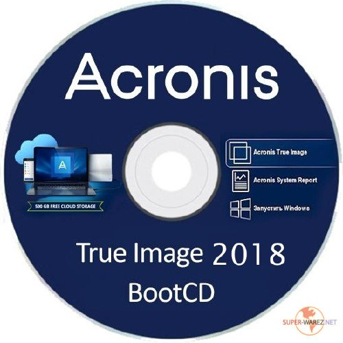 Acronis True Image 2018 Build 9850 Final BootCD