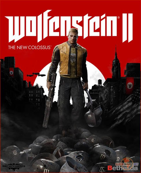 Wolfenstein II: The New Colossus (2017/RUS/ENG/RePack by xatab)