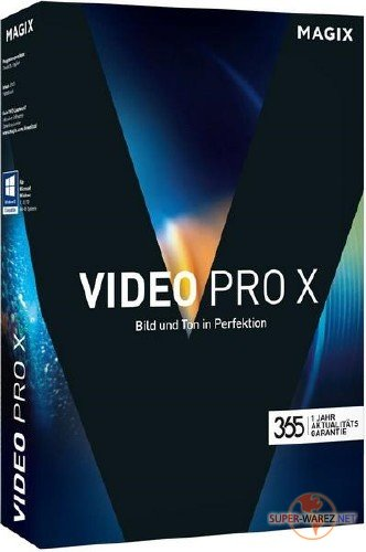 MAGIX Video Pro X9 15.0.5.195 RePack by PooShock
