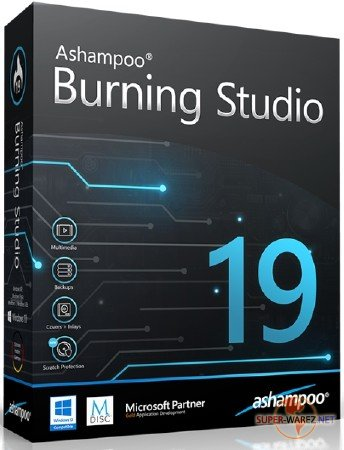 Ashampoo Burning Studio 19.0.0.25 RePack/Portable by elchupacabra