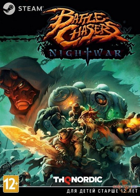 Battle Chasers: Nightwar (2017/RUS/ENG/MULTi11/Steam-Rip)