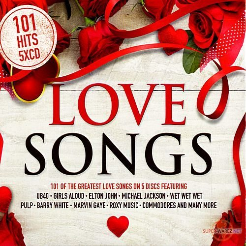 101 Love Songs. 5CD (2018)
