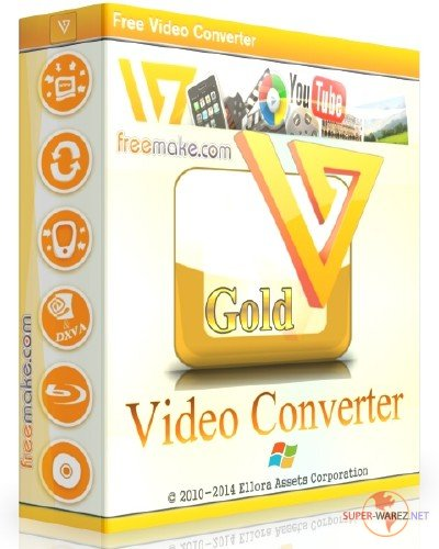 Freemake Video Converter Gold 4.1.10.52