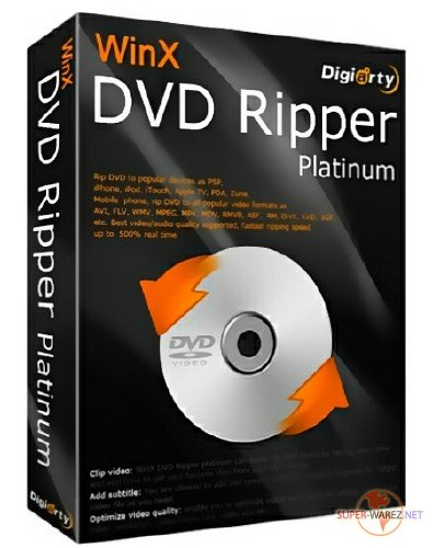 WinX DVD Ripper Platinum 8.8.0.208 Build 27.03.2018 + Rus