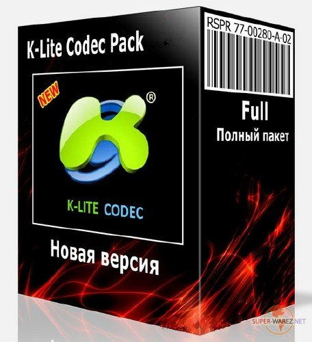 K-Lite Mega / Full / Basic / Standard / Codec Pack 14.1.5