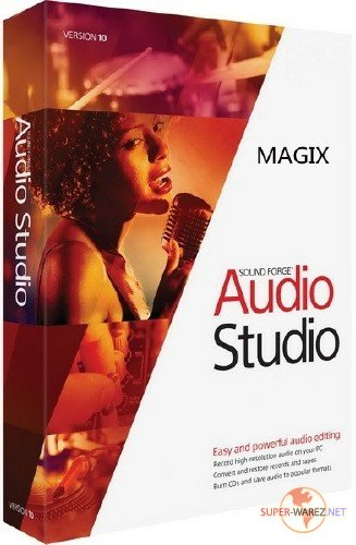 MAGIX Sound Forge Audio Studio 12.5 Build 337