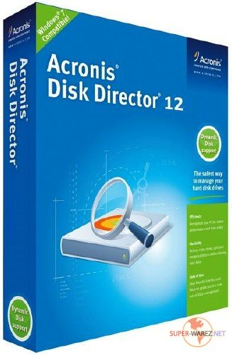 Acronis Disk Director 12.5 Build 163 RUS/ENG