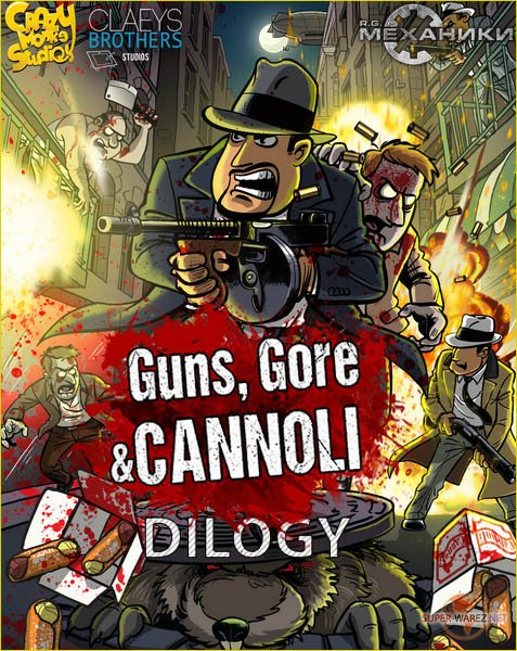 Guns, Gore and Cannoli Dilogy (2015-2018/RUS/ENG/Multi/RePack by R.G. Механики)