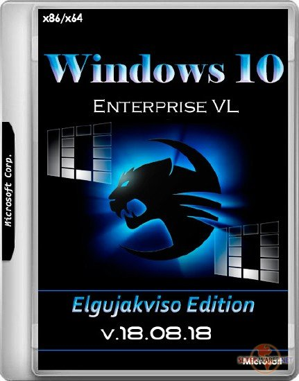 Windows 10 Enterprise x86/x64 Elgujakviso Edition v.18.08.18 (RUS/2018)