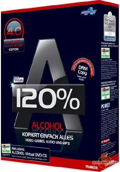 Alcohol 120% 2.0.3 Build 11012 RePack by KpoJIuK