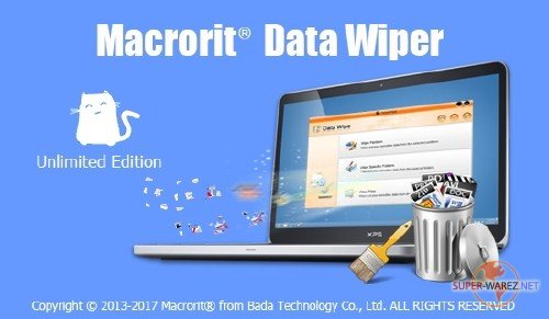Macrorit Data Wiper 4.6.0 All Edition + Portable