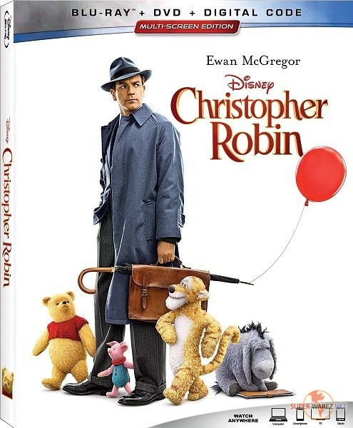Кристофер Робин / Christopher Robin (2018) HDRip/BDRip 720p