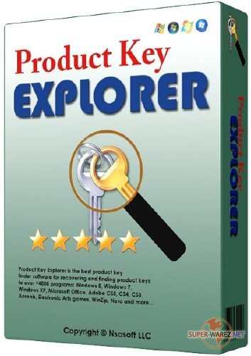 Nsasoft Product Key Explorer 4.0.9.0 + Portable