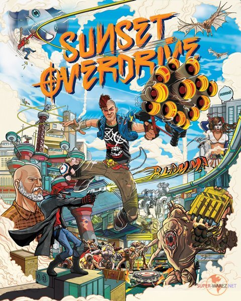 Sunset Overdrive (2018/RUS/ENG/MULTi9/RePack)