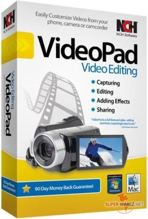 NCH VideoPad Video Editor Professional 6.30 (Rus) Portable