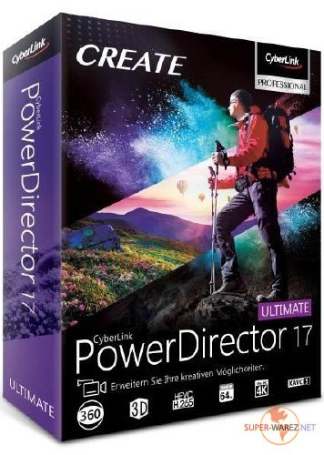 CyberLink PowerDirector Ultimate 17.0.2307.0 RePack by PooShock