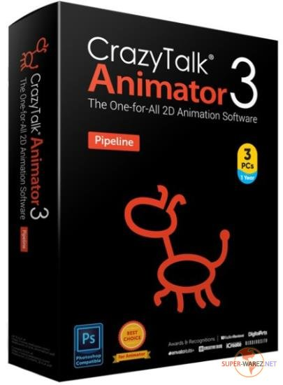 Reallusion CrazyTalk Animator 3.31.3514.1 Pipeline + Resource Pack + Bundle