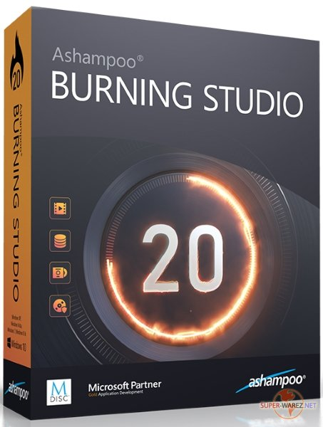 Ashampoo Burning Studio 20.0.1.3 Final DC 12.12.2018