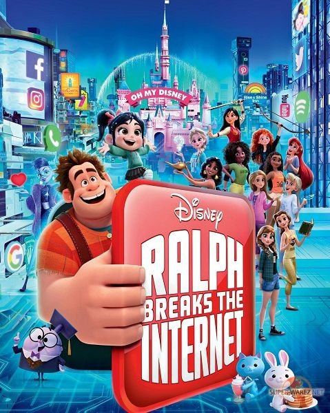 Ральф против интернета / Ralph Breaks the Internet (2018) DVDScr