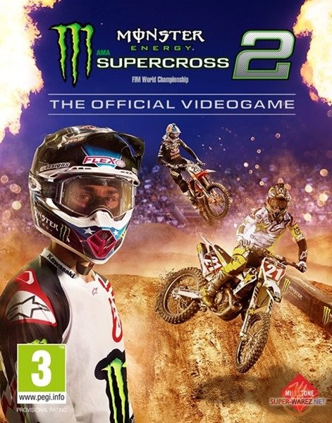 Monster Energy Supercross - The Official Videogame 2 (2019/ENG/MULTi7/RePack от FitGirl)
