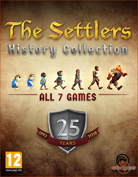 The Settlers: History Collection (2018/RUS/MULTi/UplayRip by R.G. Origins)