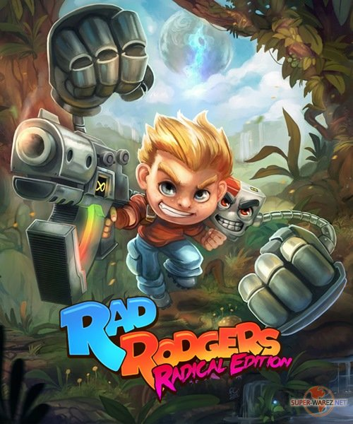 Rad Rodgers: Radical Edition (2019/RUS/ENG/MULTI11/RePack от FitGirl)