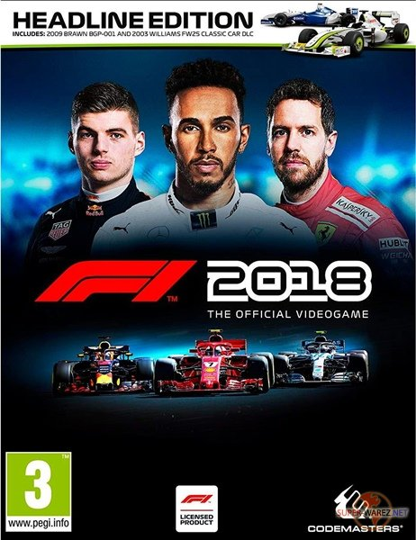 F1 2018: Headline Edition (2018/RUS/ENG/MULTi4/RePack от FitGirl)