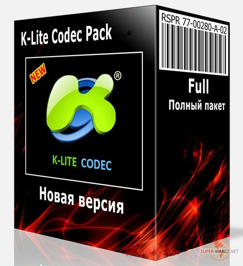 K-Lite Mega / Full / Basic / Standard / Codec Pack 14.9.0